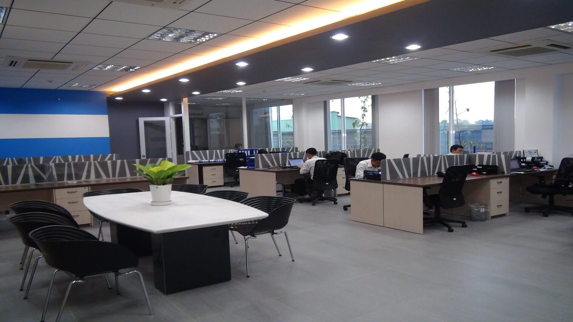 Kizuna's office for rent in ready built factory