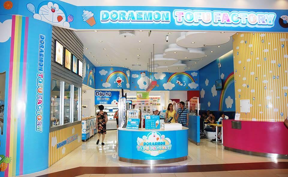 Cửa hàng Doreamon Tofu Factory - nhà đầu tư chế biến thực phẩm tại Kizuna 2