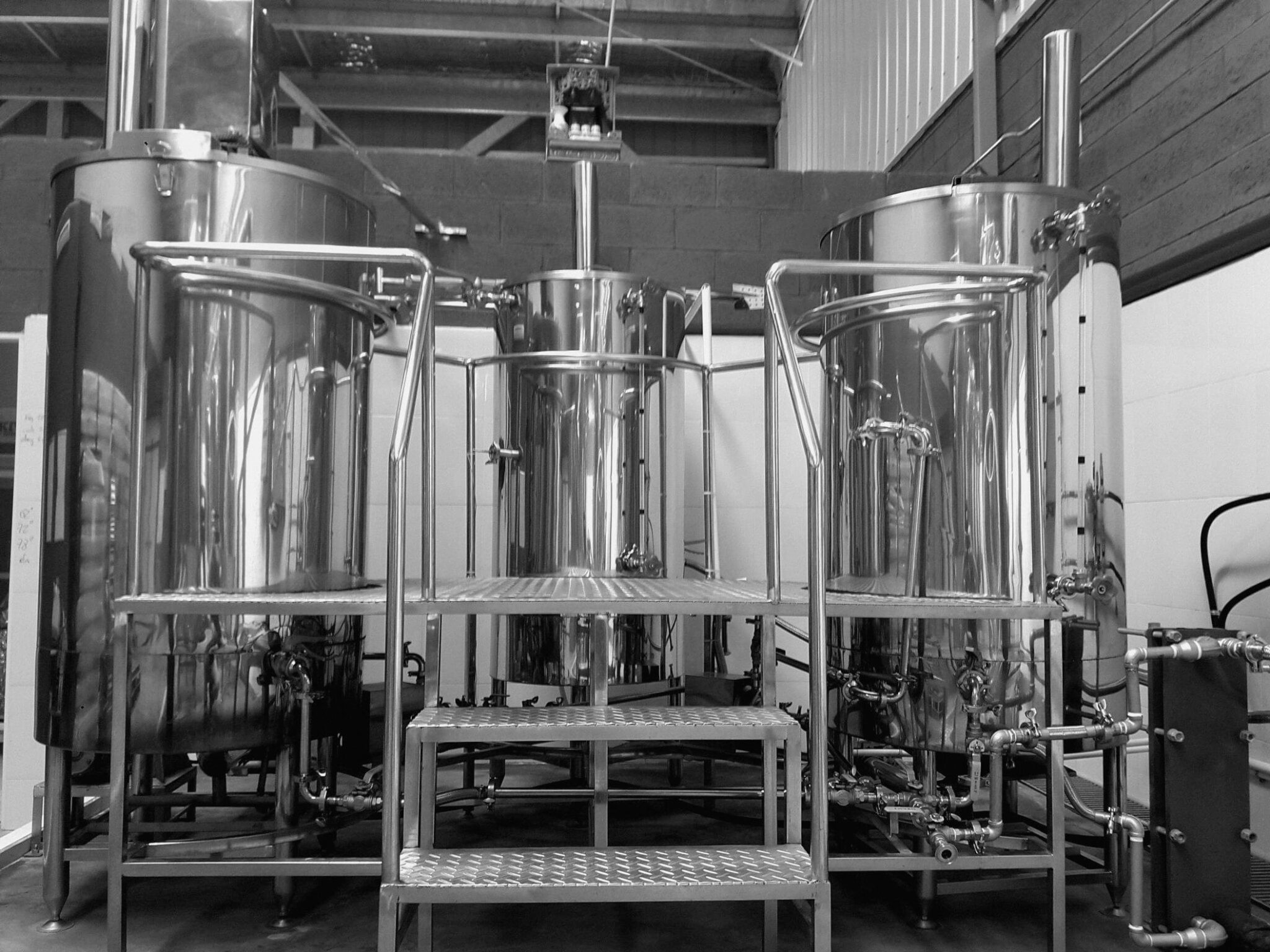 Brewing system of Alkemia factory