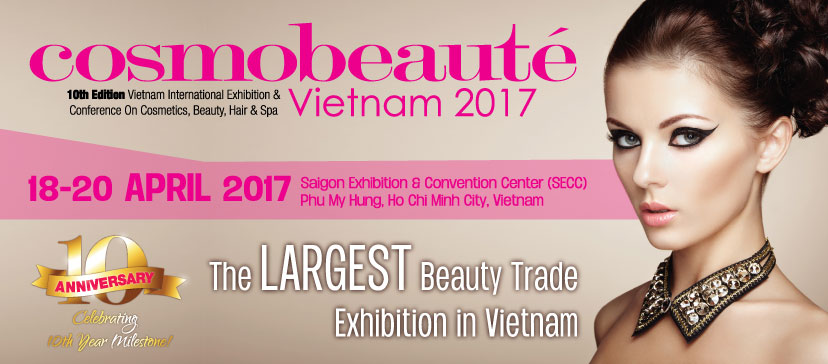 cosmobeauté vietnam 2017