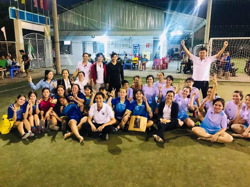 Semitec's women football team