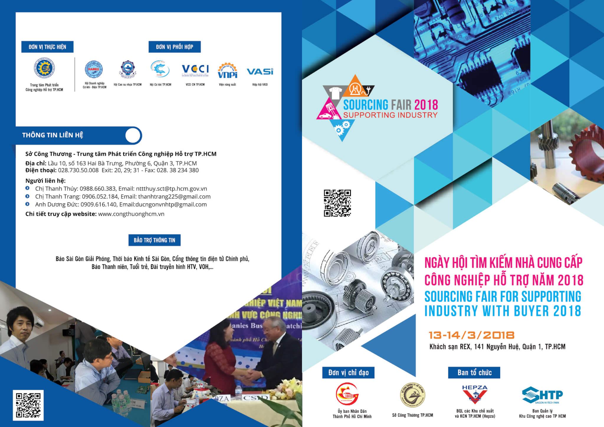 Ngày hội tìm kiếm nhà cung cấp công nghiệp hỗ trợ năm 2018