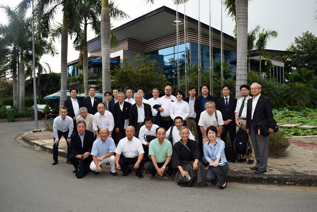 ehime-inspection-group-visiting-Kizuna