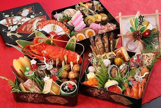 JPN new year food