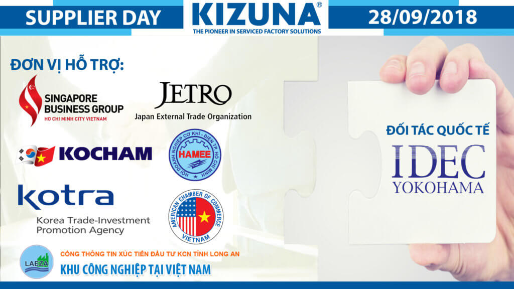 Kizuna Supplier Day 2018 - Don vi ho tro